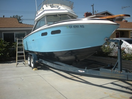 24' SeaRay Flying Bridge